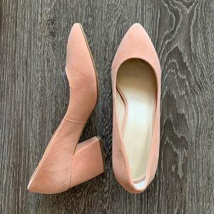 Botkier Peach Block Heel